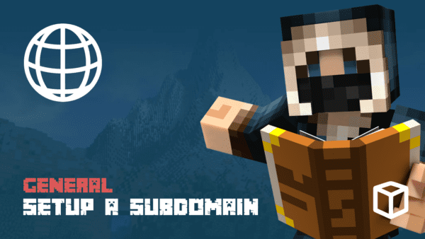 Setting Up A Minecraft Subdomain For Your Server