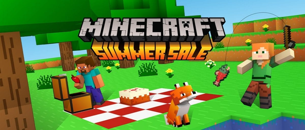 minecraft summer sale
