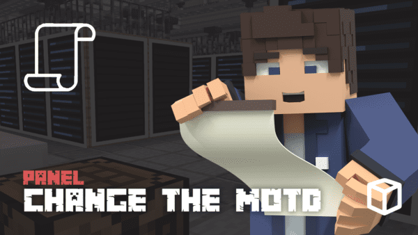 How To Change The MOTD On A Minecraft Server