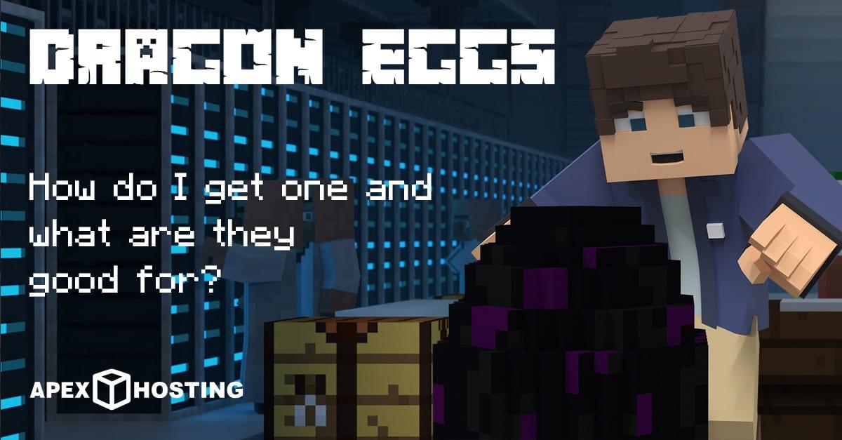 Minecraft dragon eggs