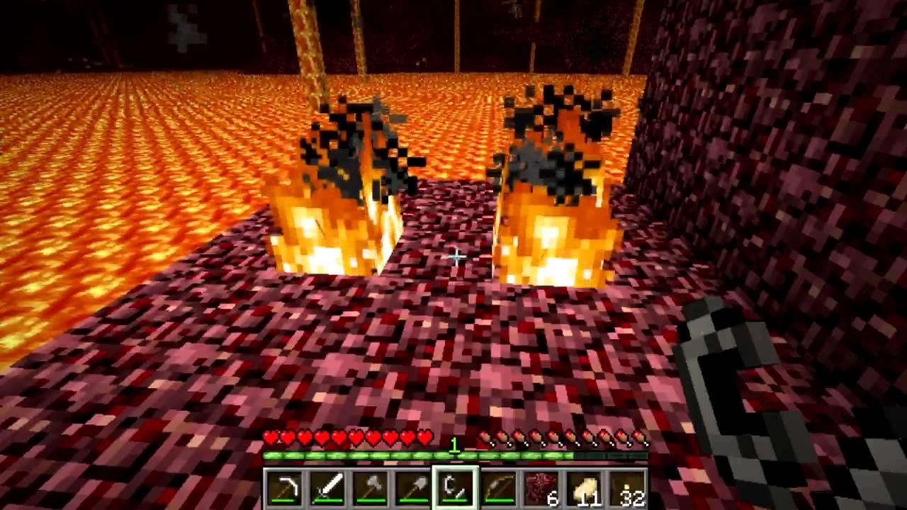 netherack burning