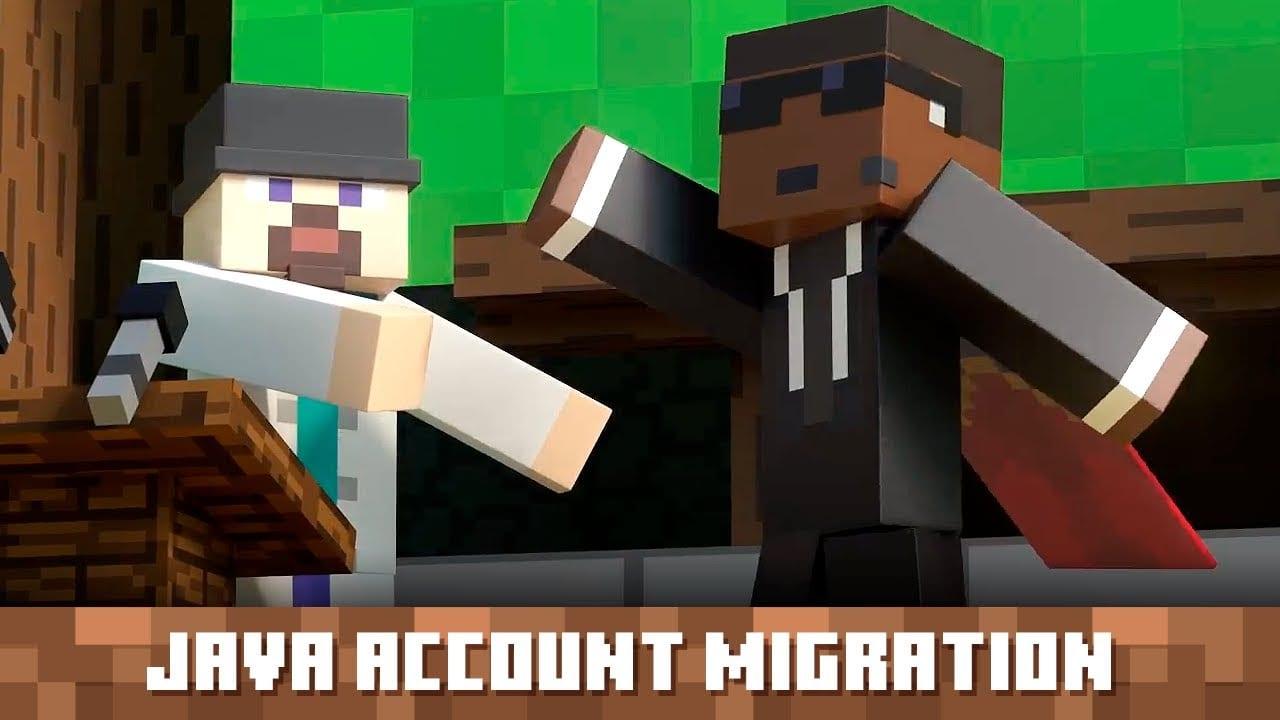 java account migration