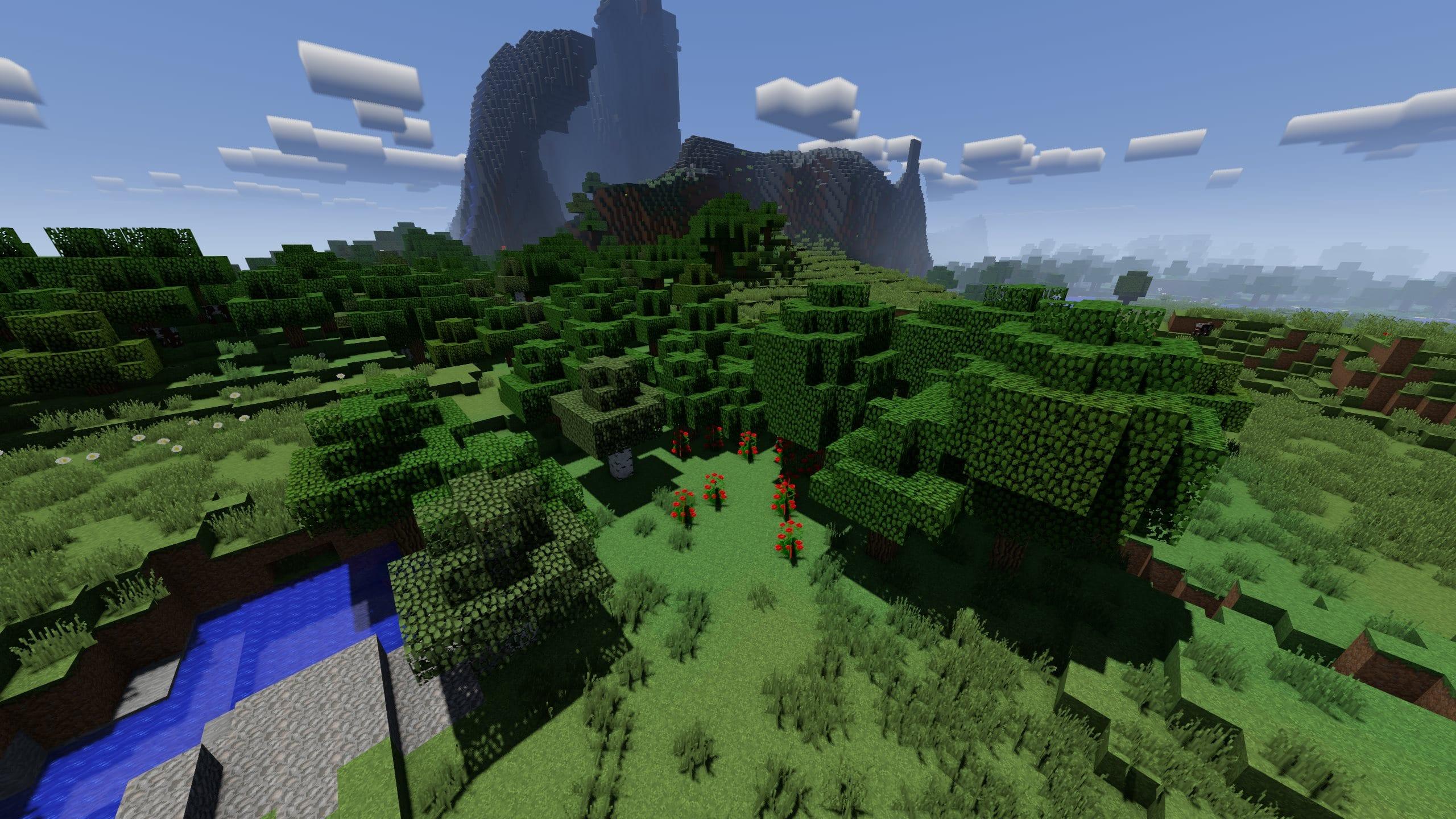 vanilla oak forest