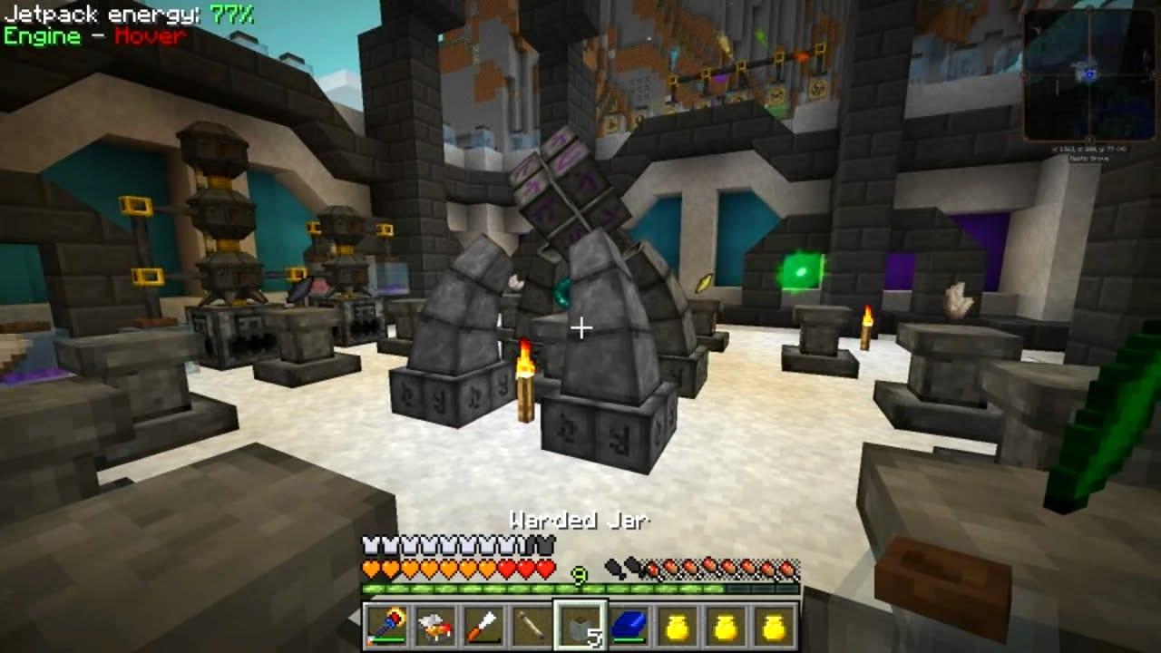 modded minecraft thaumcraft