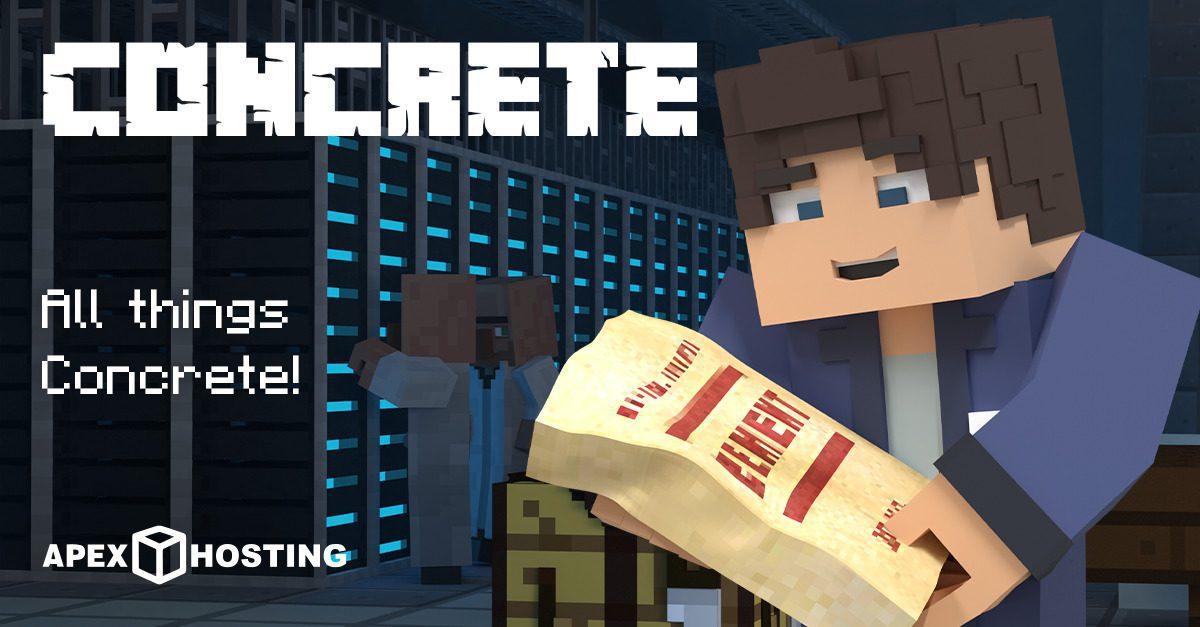 Minecraft Concrete