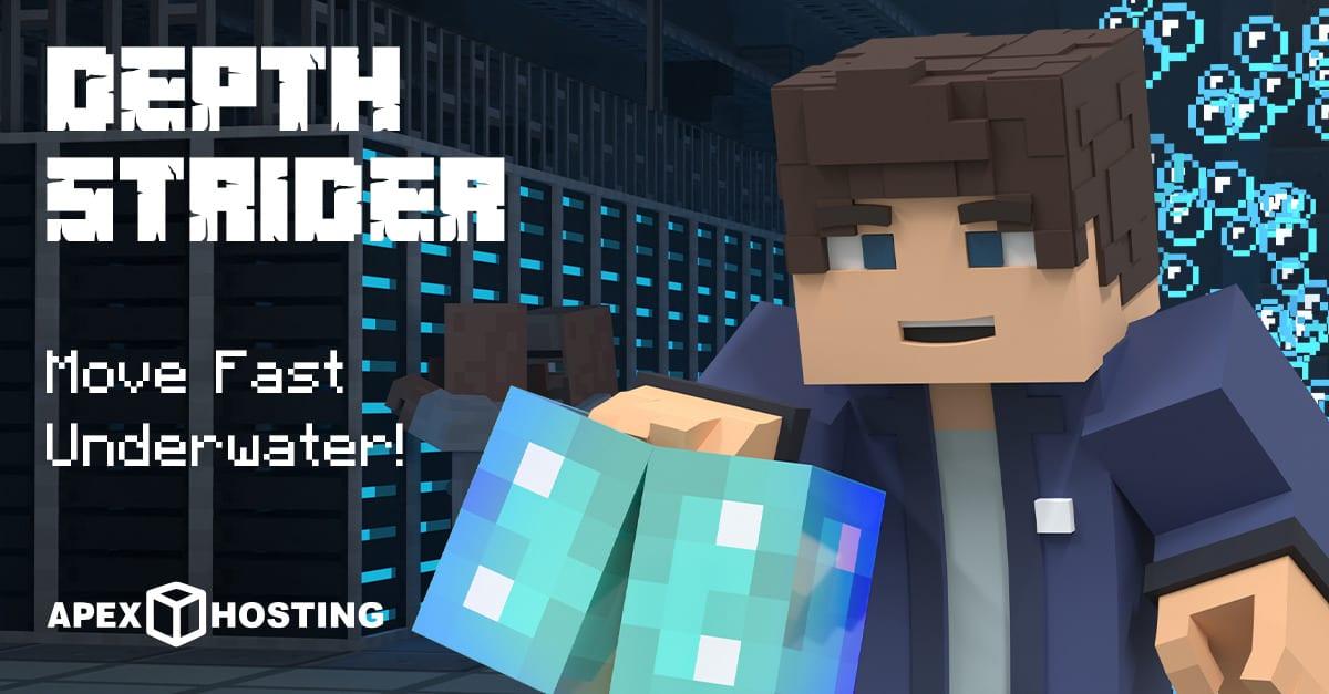 Minecraft Depth Strider