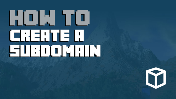How to Create a Subdomain in Minecraft