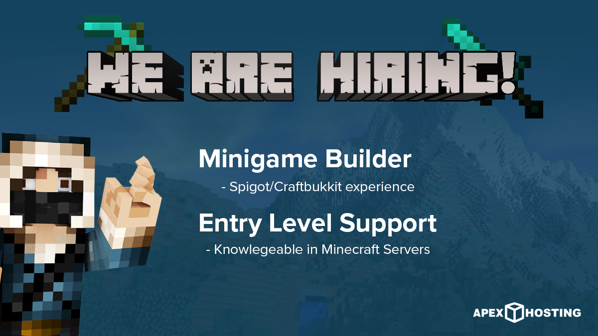 We Are Now Hiring