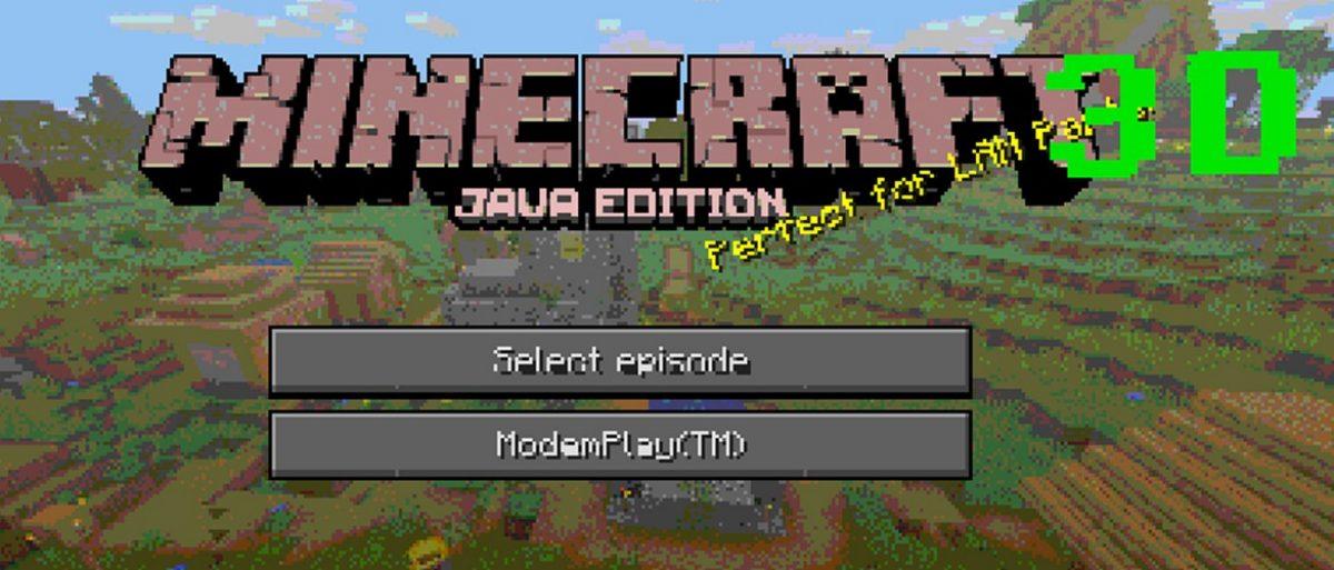 Minecraft 3D