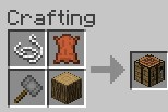 workbench crafting recipe