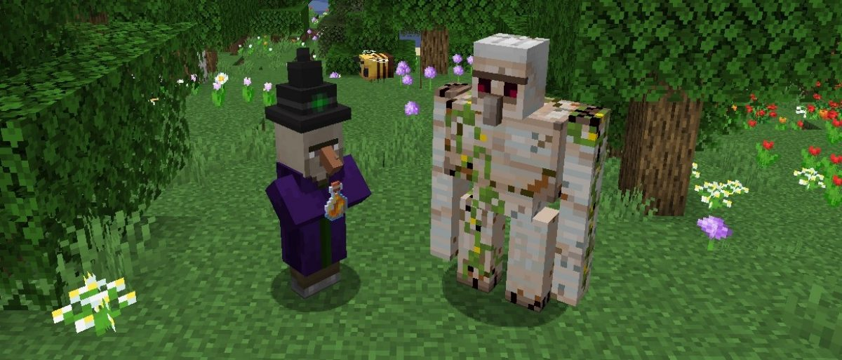 witch and golem