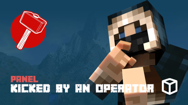 Kicked by an Operator Message in Minecraft