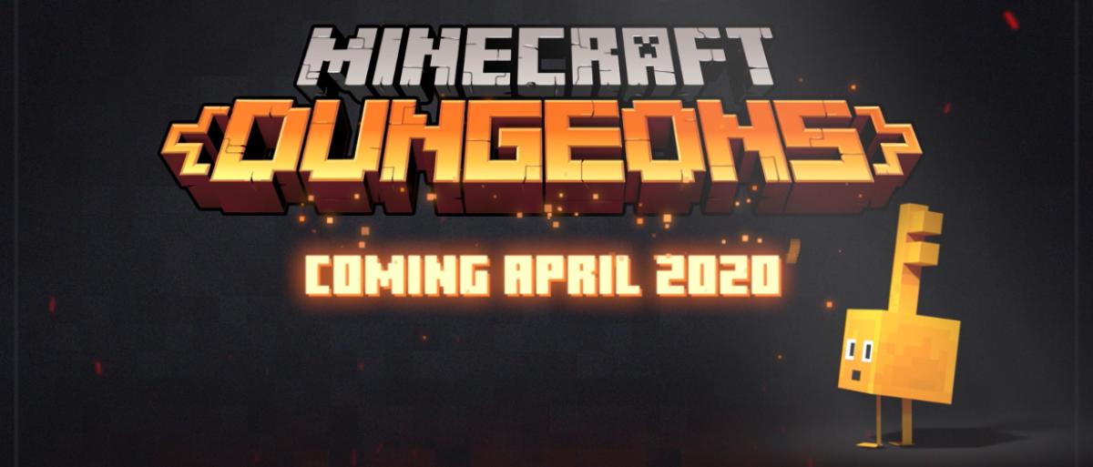 Minecraft:Dungeons Releasing April 2020