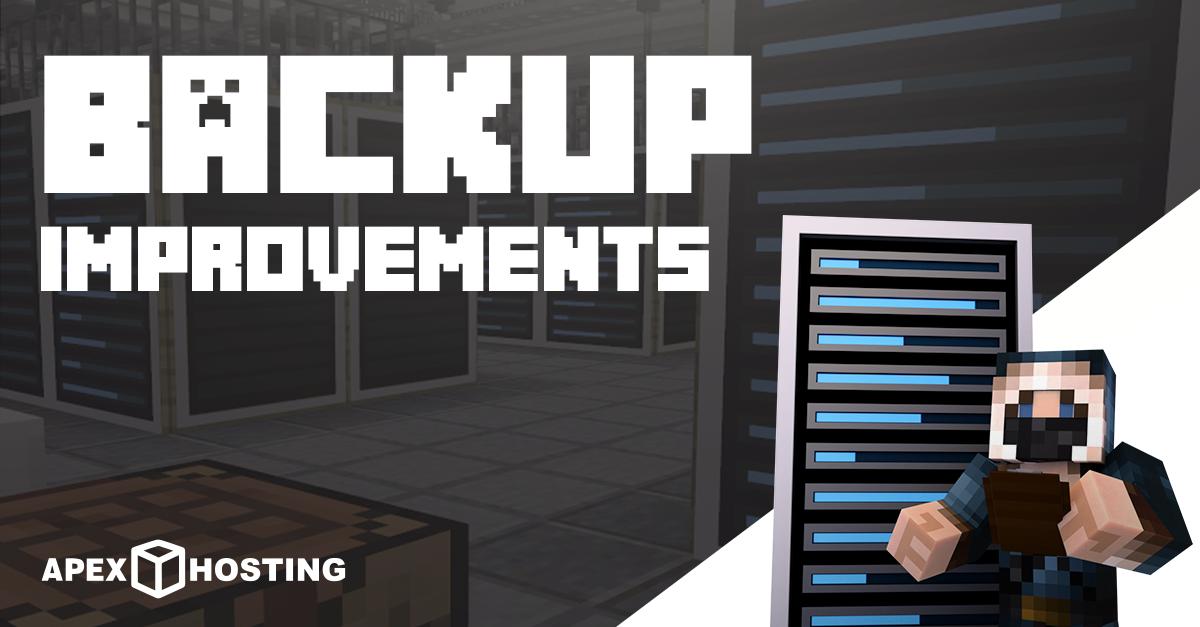 backup improvements